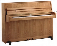 Kemble Cambridge school model upright piano.