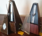 Secondhand metronomes