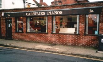 Carstairs Pianos Roper Road showroom.