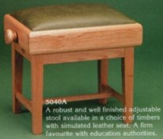 Tozer 5040A solo adjustable piano stool.